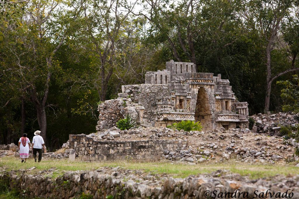 Mayan arqueological site Labná, Peninsula Yucatan, Mexico.