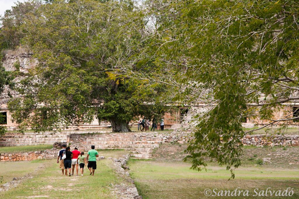 Templo de las Columnas, Zona arqueologica Labna, Ruta Puuc, Yucatan