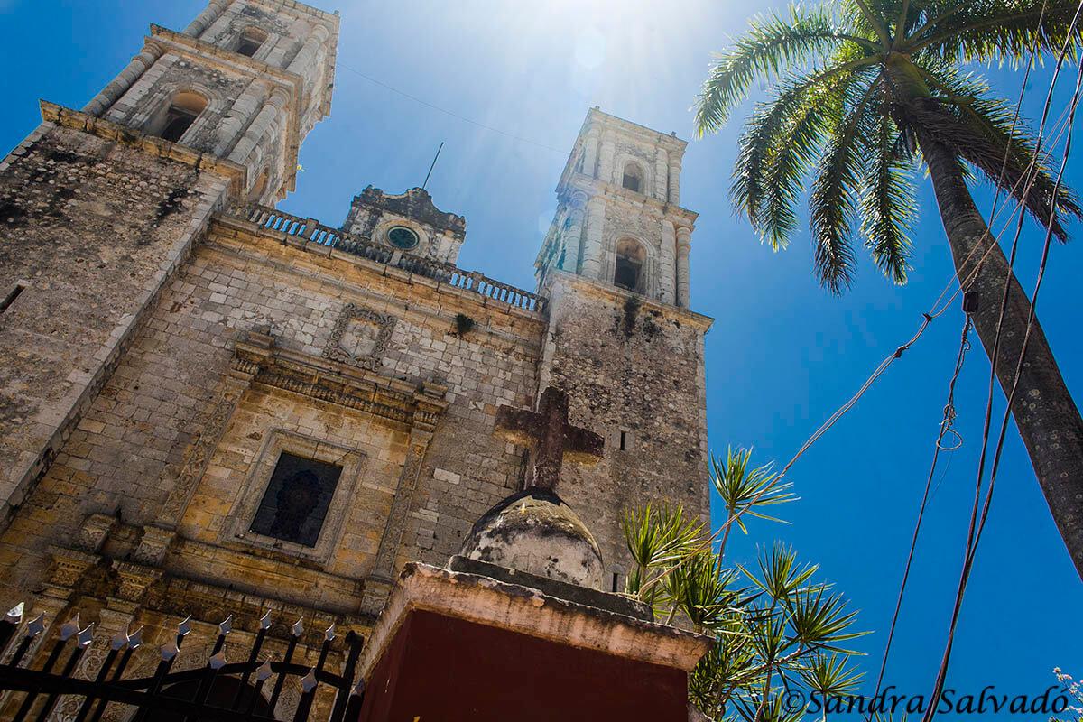 Iglesias de San Servacio, Valladolid, Yucatán