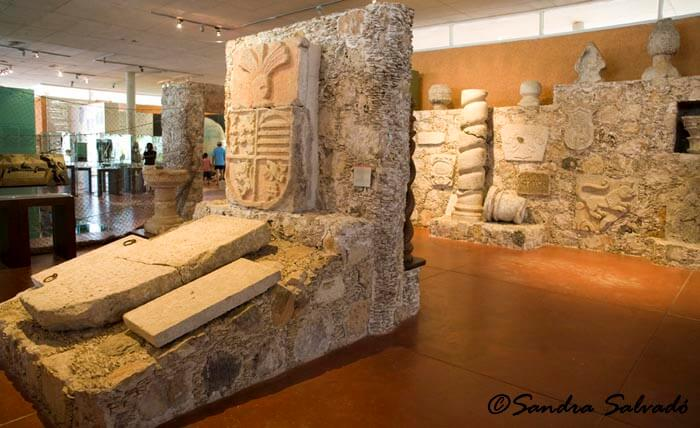 Museo Zona Arqueológica Dzibilchaltún, Yucatán, México.
