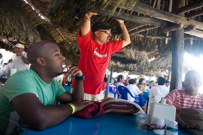 Refreshment stall in Progreso, Yucatán, México.