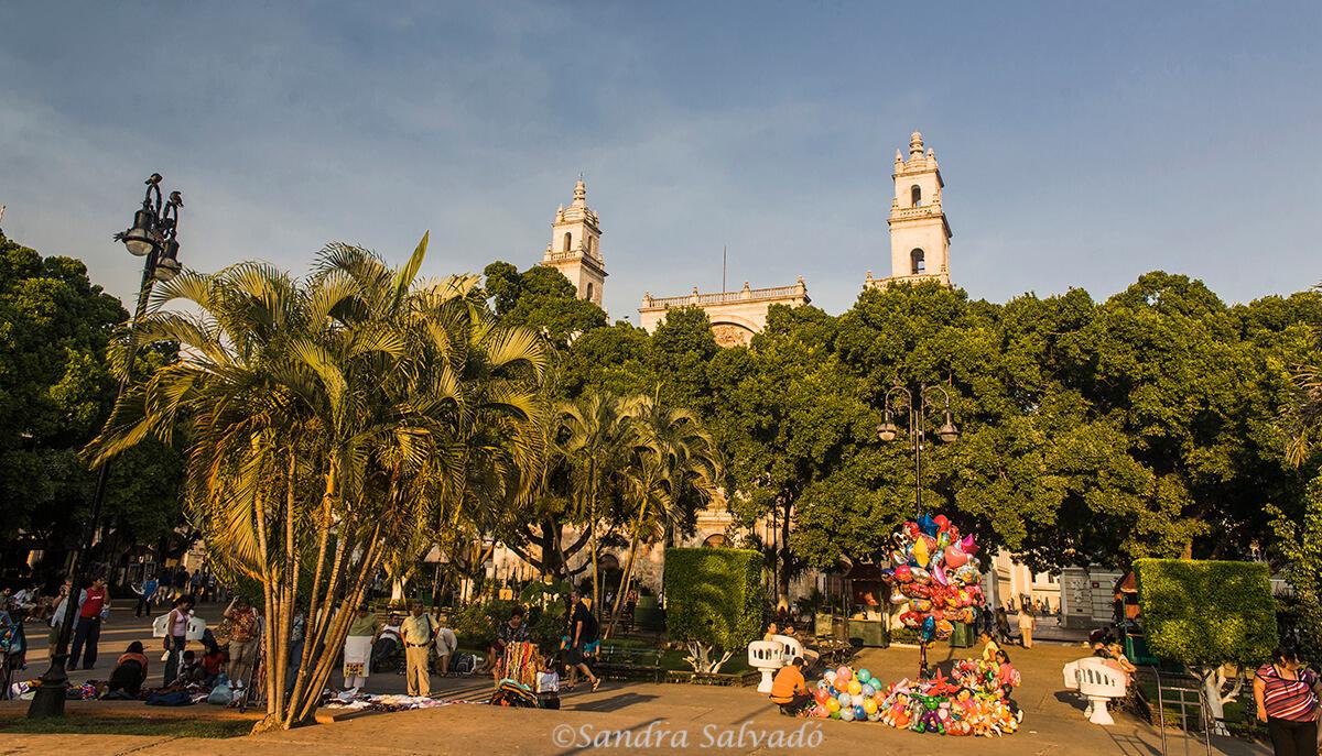 5 visitas gratuitas en la Plaza Grande de Mérida