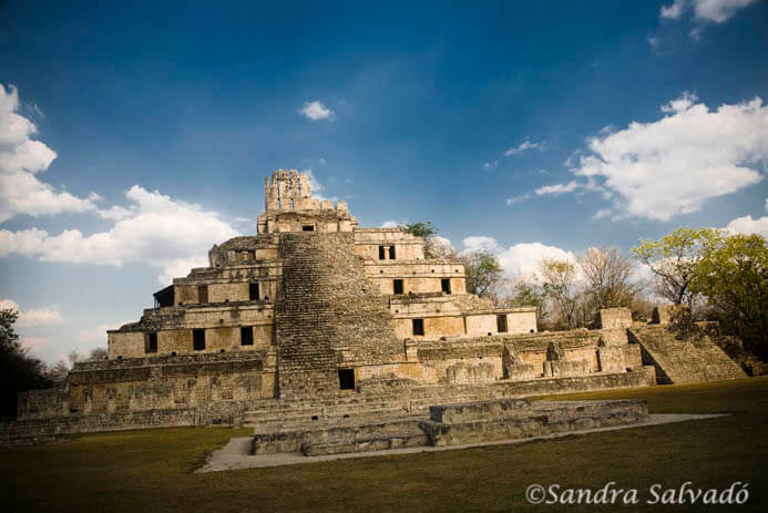 Edzná, otra joya maya en Campeche