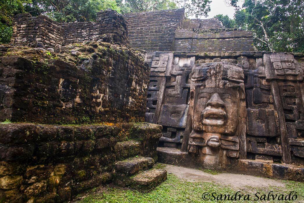 Archaeological site Lamanai, Belize.