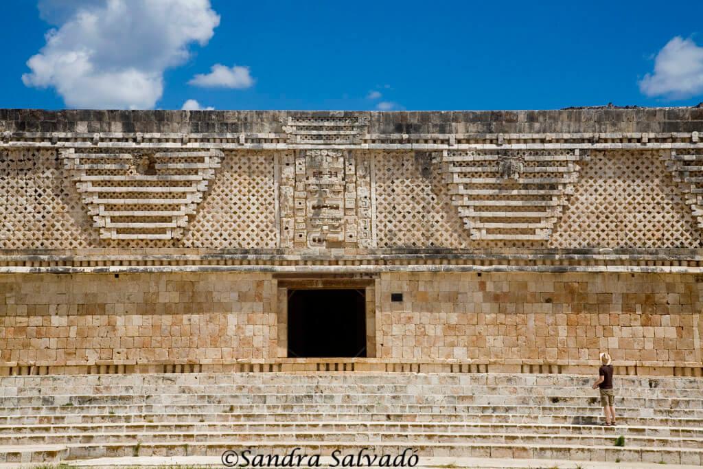 Cuadrangulo de las Monjas, Uxmal Archaeological Site, Yucatan, Mexico.