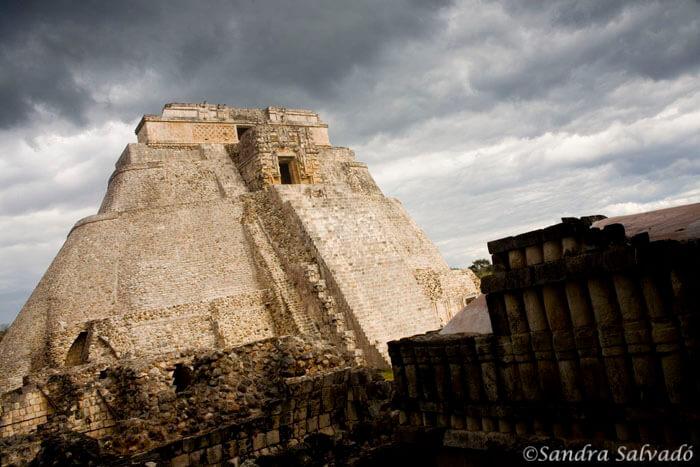 Piramide Adivino, Uxmal, Peninsula