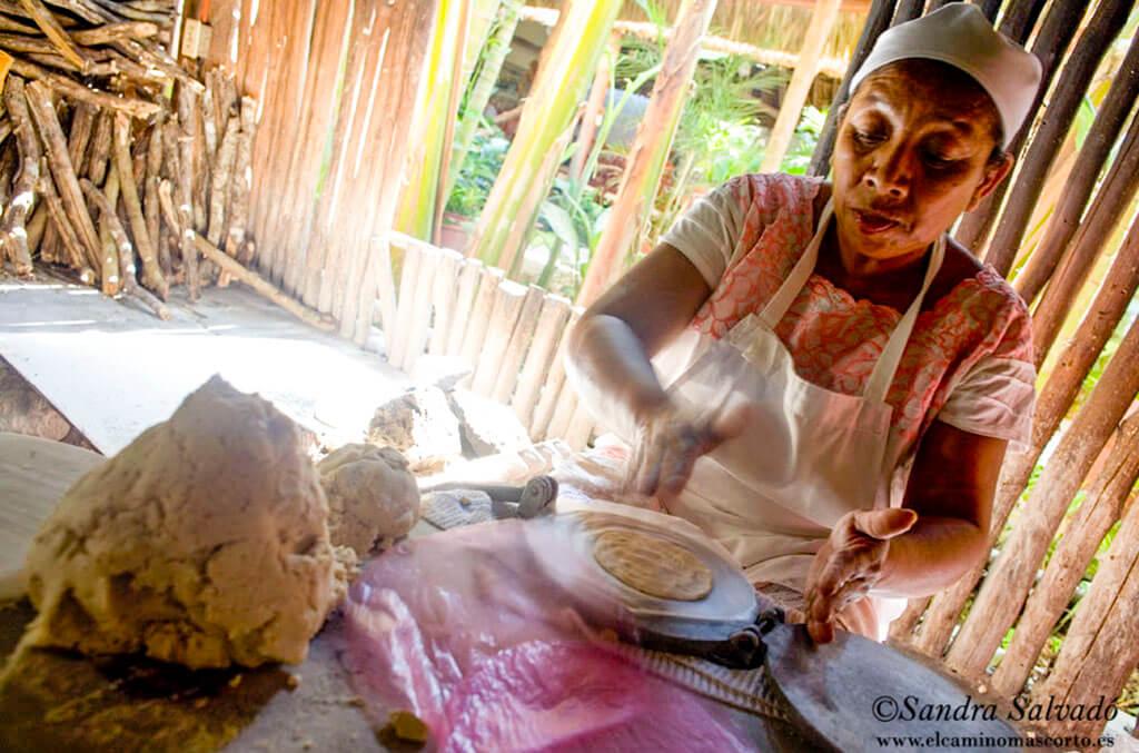 tortillas de maiz hechas a mano