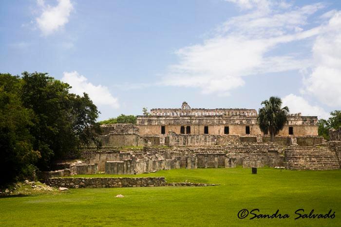 Archeological site Kabah, Yucatán, México.