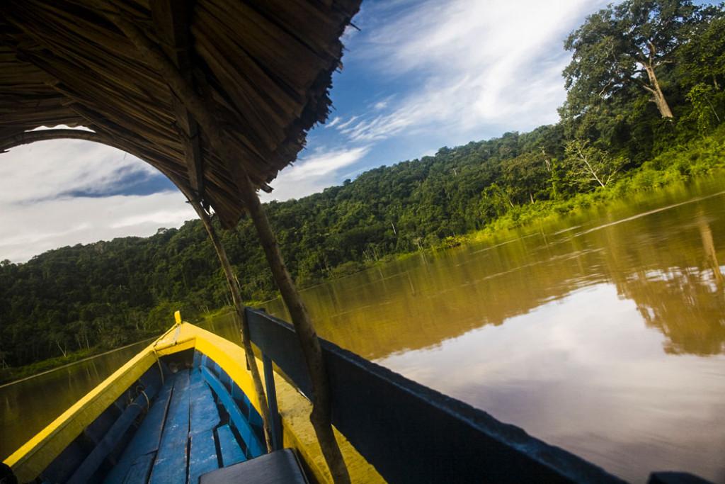 The Río Usumacinta Valley, México Guatemala border.