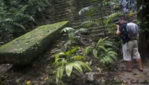 The Río Usumacinta Valley, Piedras Negras Archaeological Site, Chiapas, México.