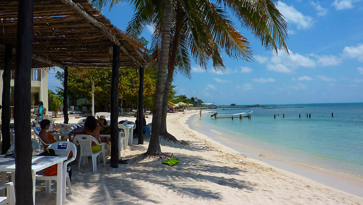Isla Mujeres, playa tiburón
