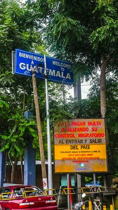 Frontera Guatemala Belice