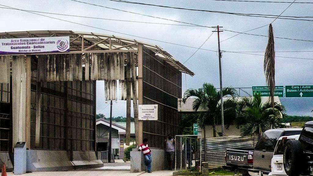 Frontera Guatemala (Melchor de Mencos) – Belice (Benque Viejo), requisitos