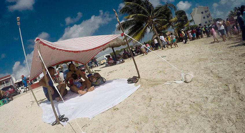 Playa Niños, Cancun