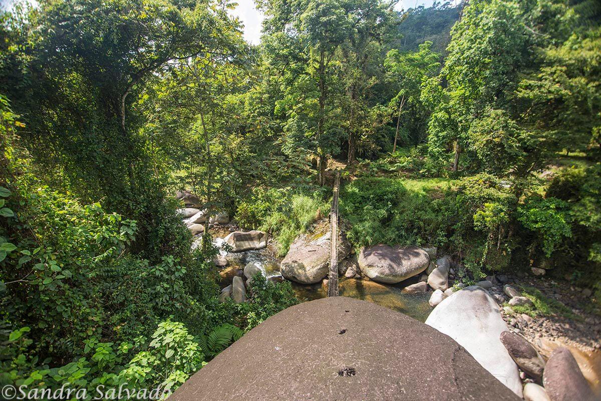 Río Cuilco en la Finca Chiripa, Ruta del Café Tapachula, Chiapas
