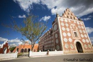 Templo y ex convento de Santo Domingo, Uayma, Yucatán.