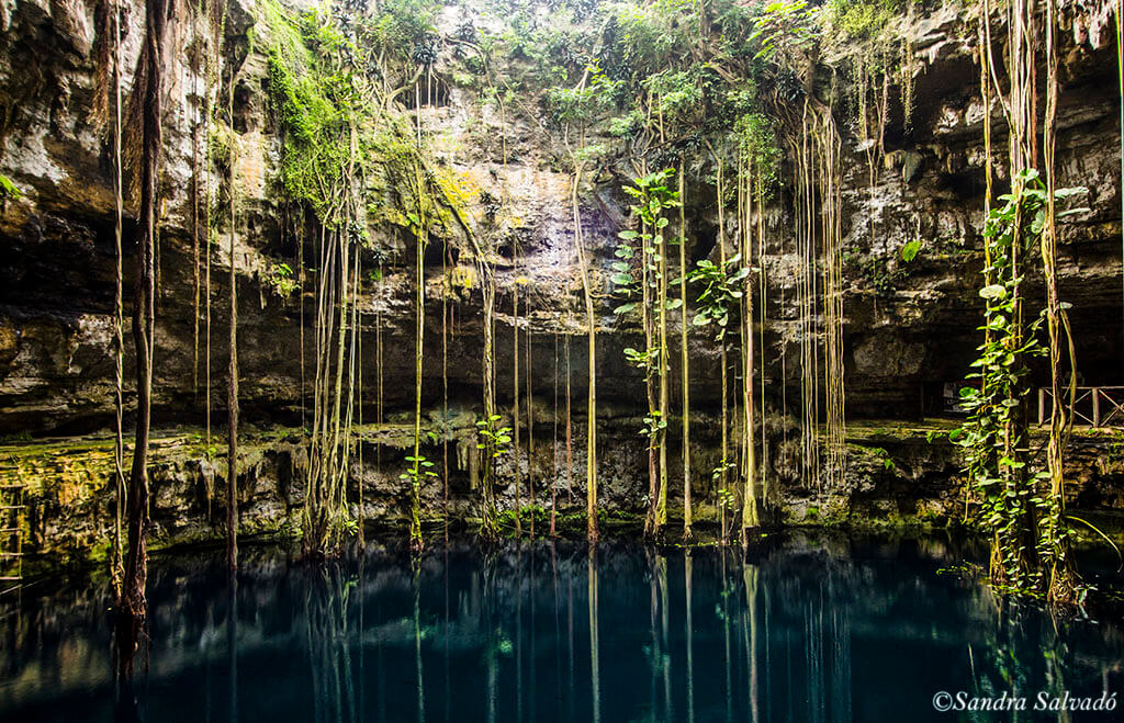 Cenote Oxman, treasure of Valladolid at the Hacienda San Lorenzo