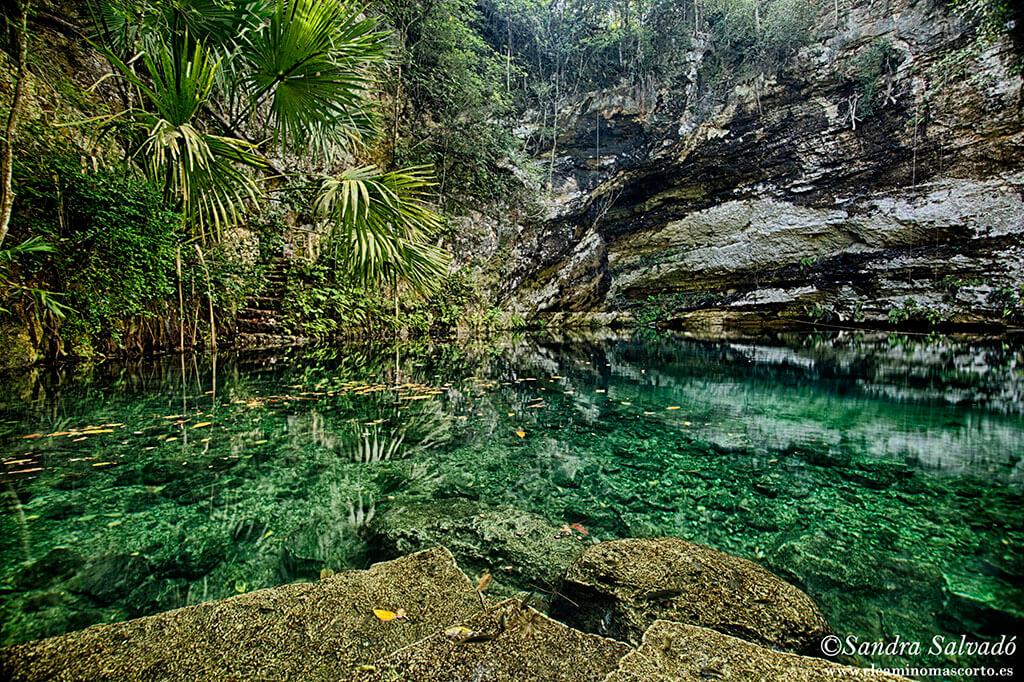 Cenote Xla'kaj, a las puertas de Xocén