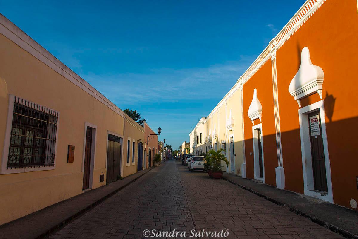 Calles de Valladolid, Yucatán, México.