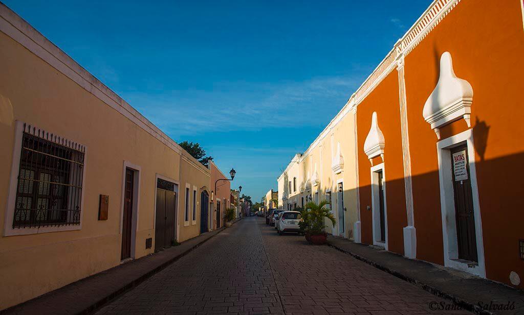 Valladolid, ciudad colonial Yucatán, México.