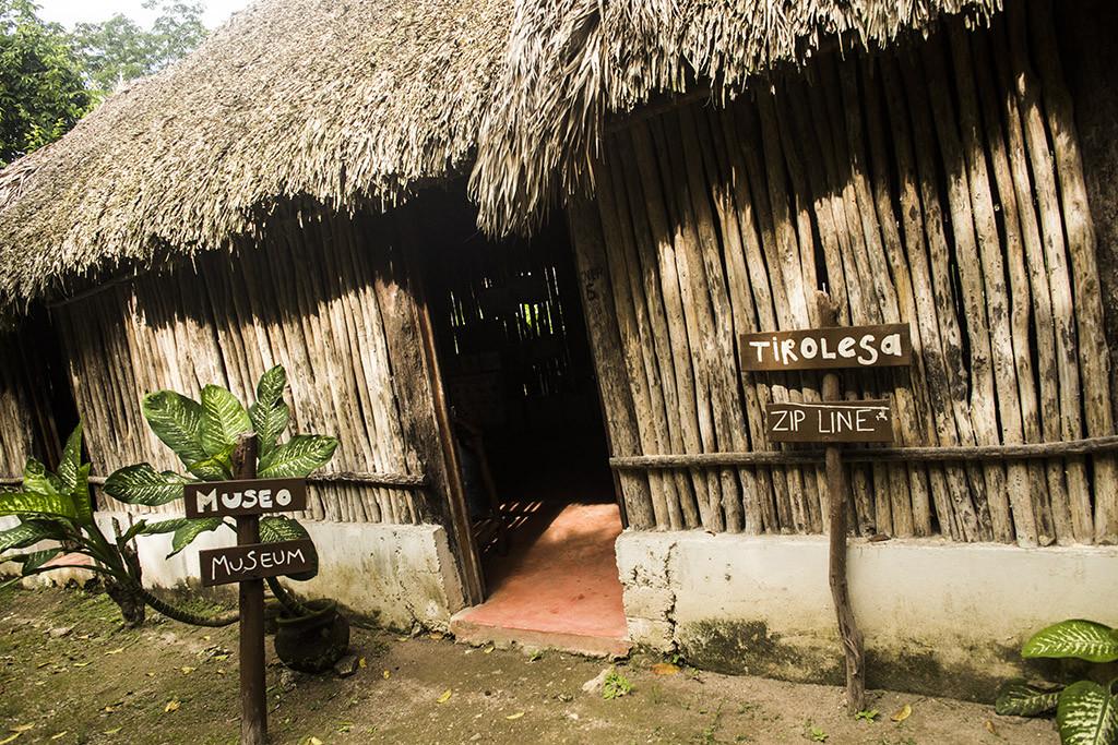 Museo en Punta Laguna