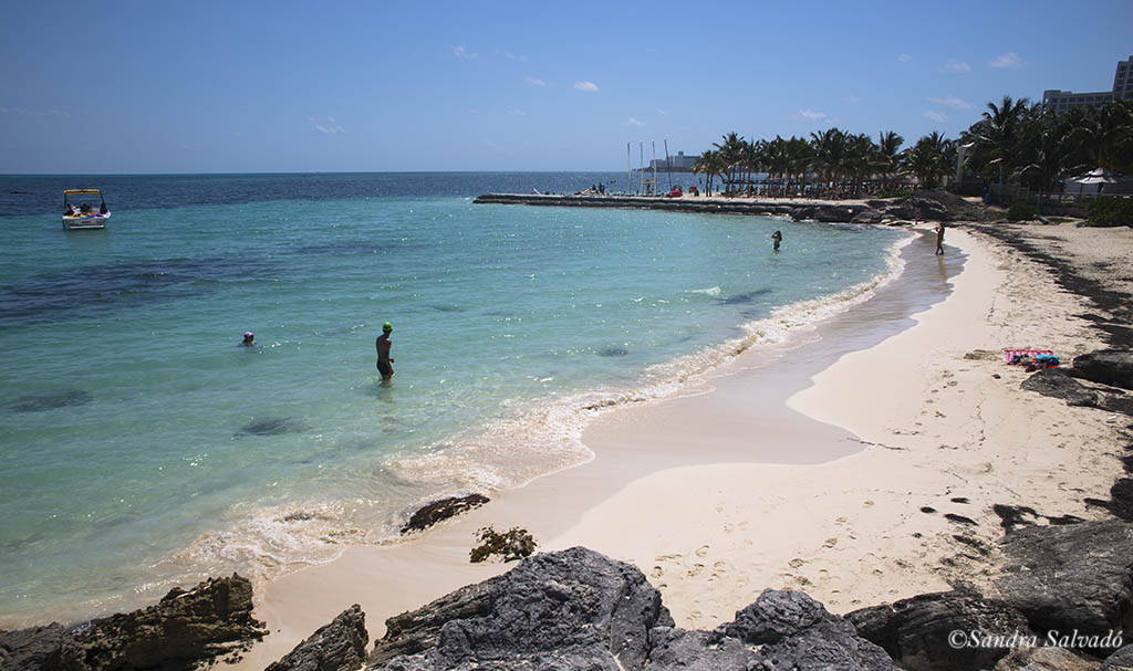Playa Pez Volador is a quiet and hidden beach in Cancun 1