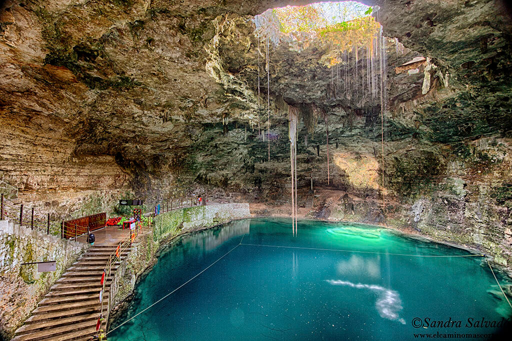 Cenote Hubiku, on the Yucatan tourist route