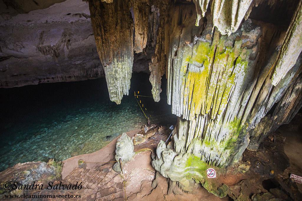 Cenote Bal-Mil, lugar de ritos y ofrendas. 2