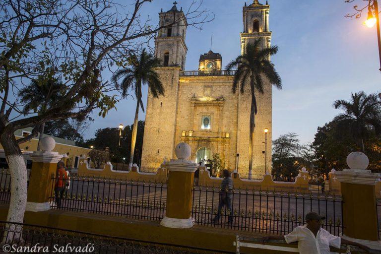 Church in Valladolid, Yucatan, Mexico.