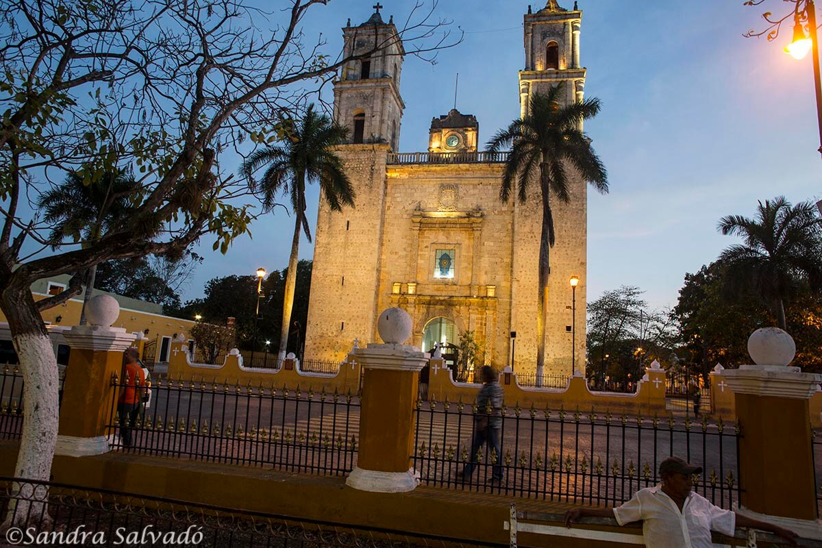 Basilica of San Servacio, Valladolid, Yucatan