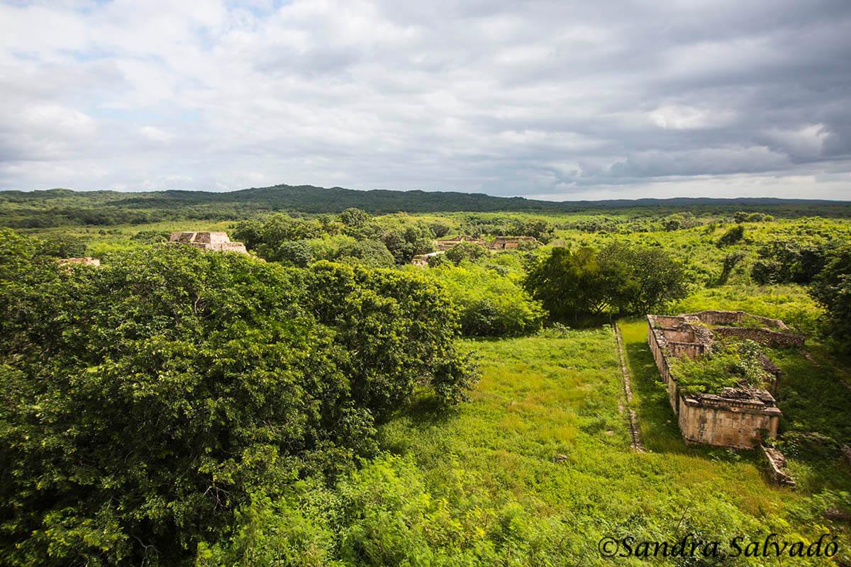 Zona arqueológica Oxkintok, Yucatán