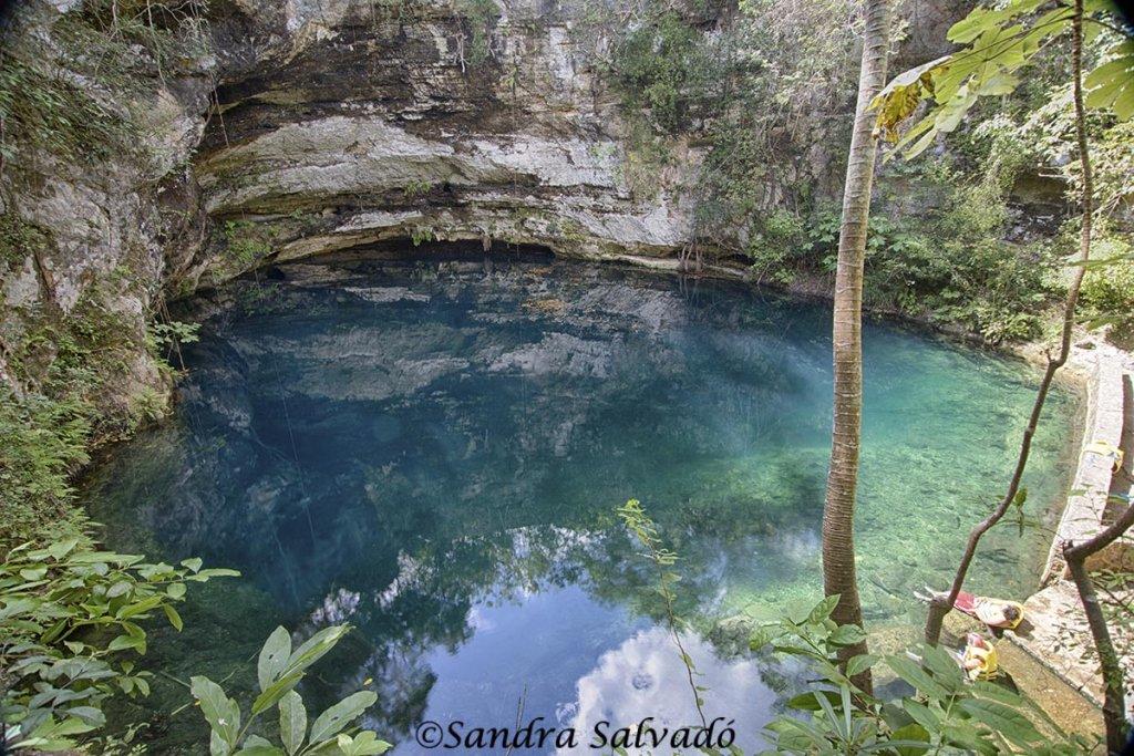 cenote Xlakaj, Yucatan