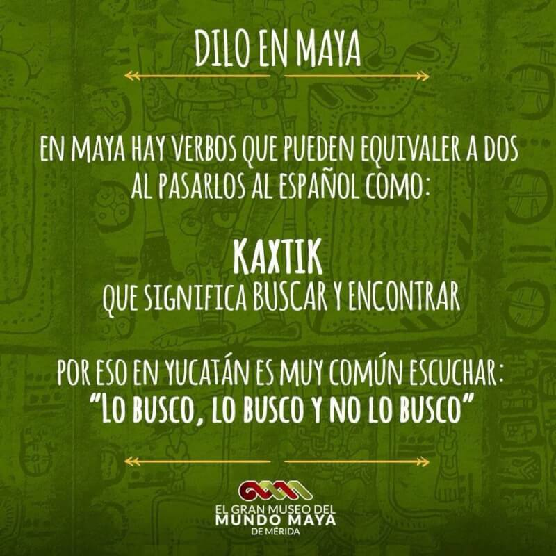 Yucatec Mayan language