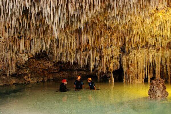 Rio Secreto, an underground walk
