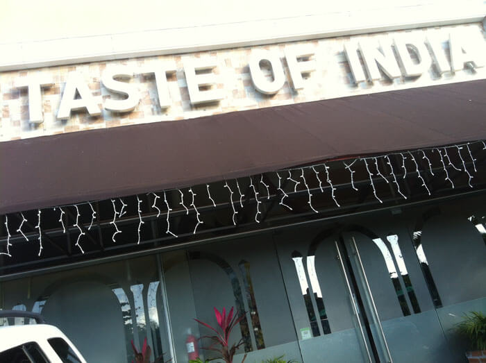 Taste of India, sabores indios en Cancún 1