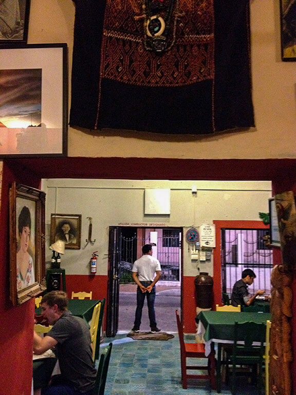 Conato 1910 restaurant, Valladolid, Yucatan, Mexico.