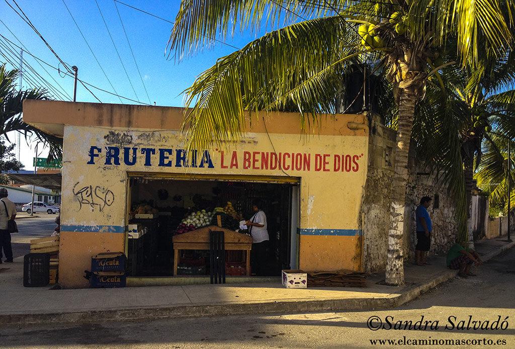 Frutería Pisté, Yucatán México.