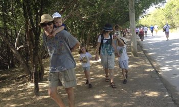 Travel with children in Riviera Maya