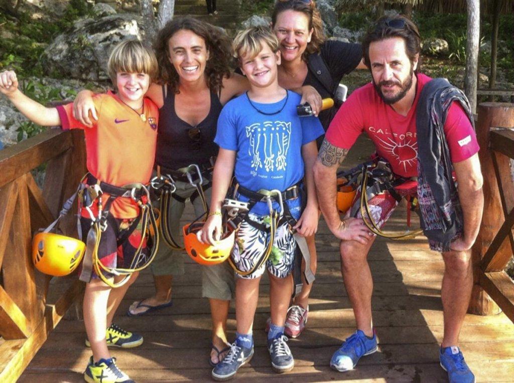 Viajar con niños a la Riviera Maya.