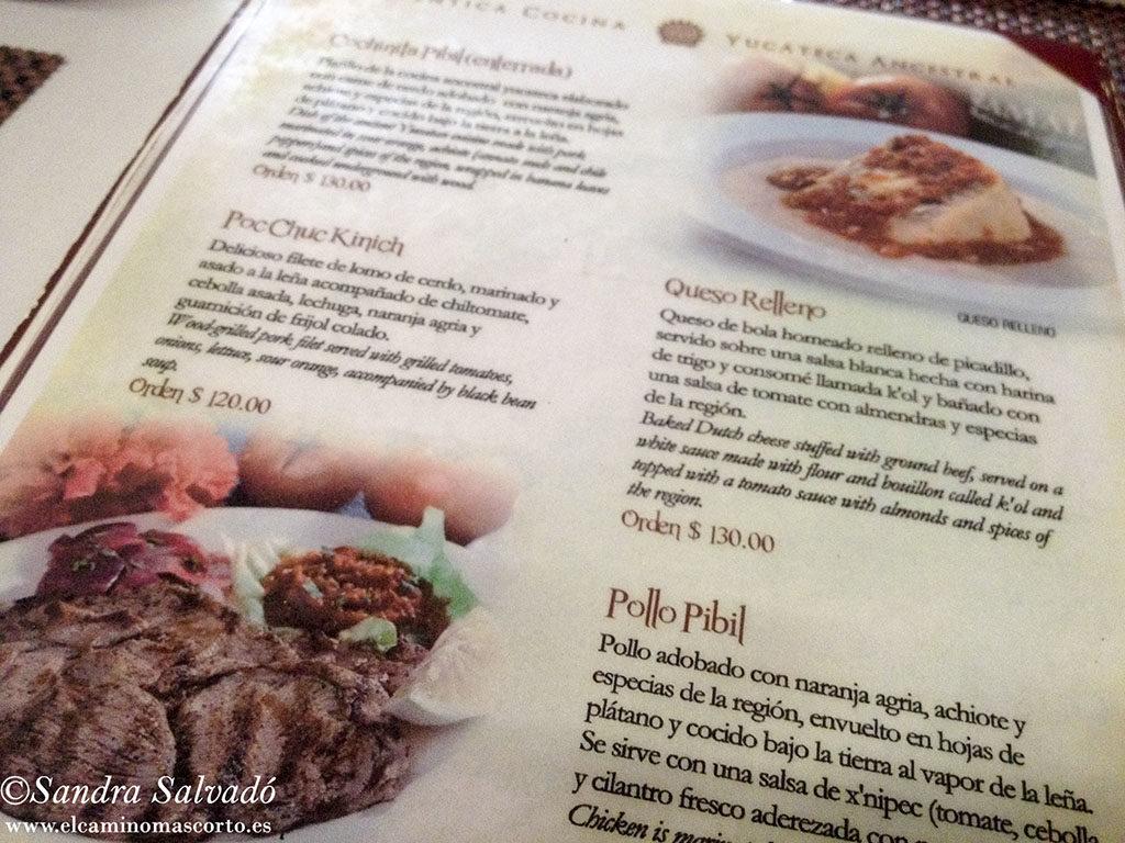 restaurante Kinich, Izamal