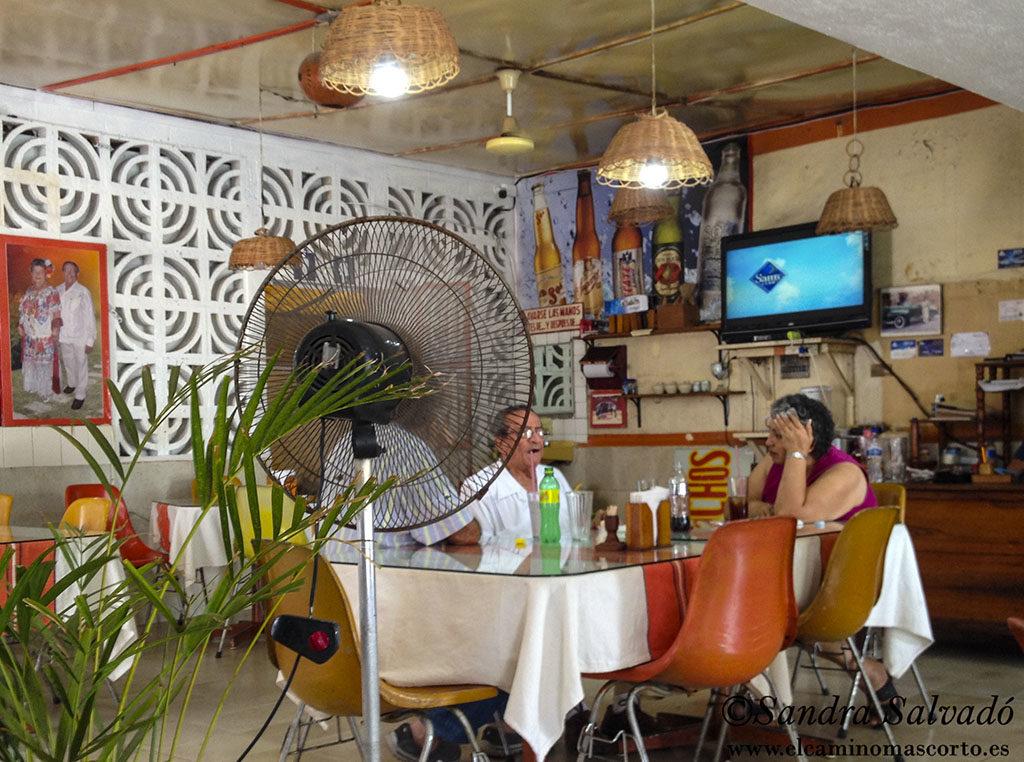 Tres Reyes Restaurant, Tizimín, Yucatan, Mexico.