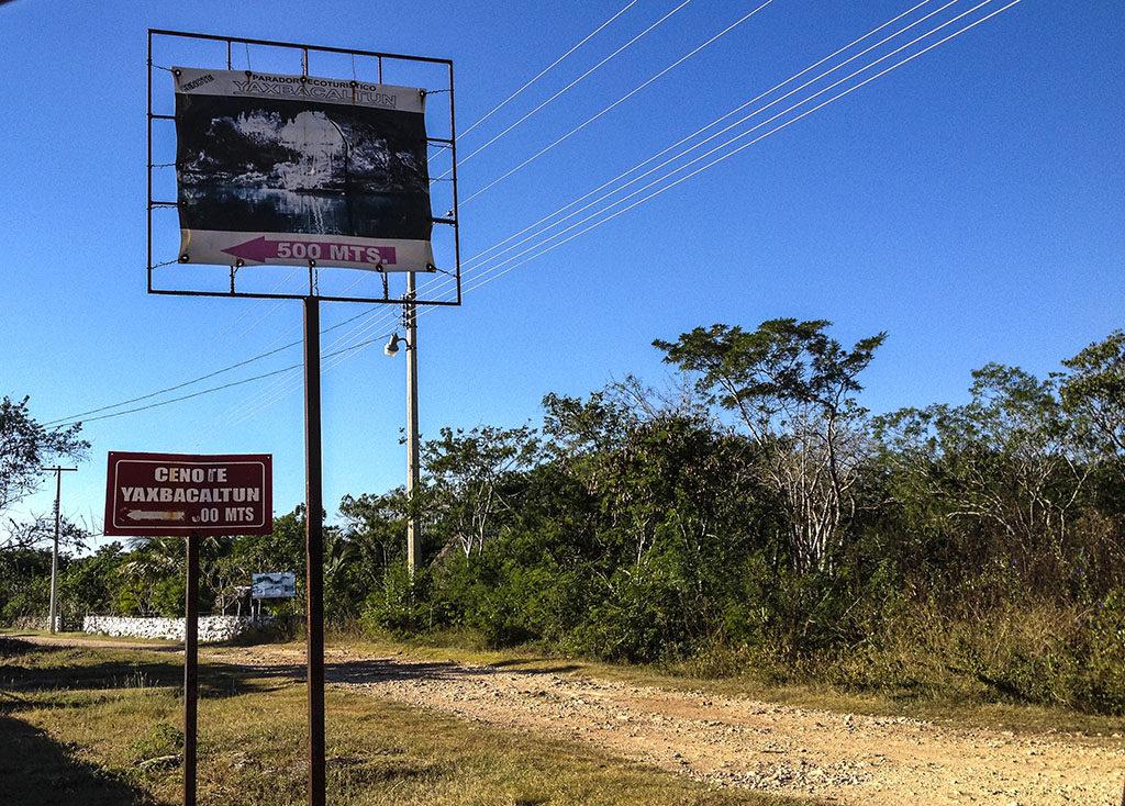 Cenote Yaxbacaltun, tesoro de Homún 1