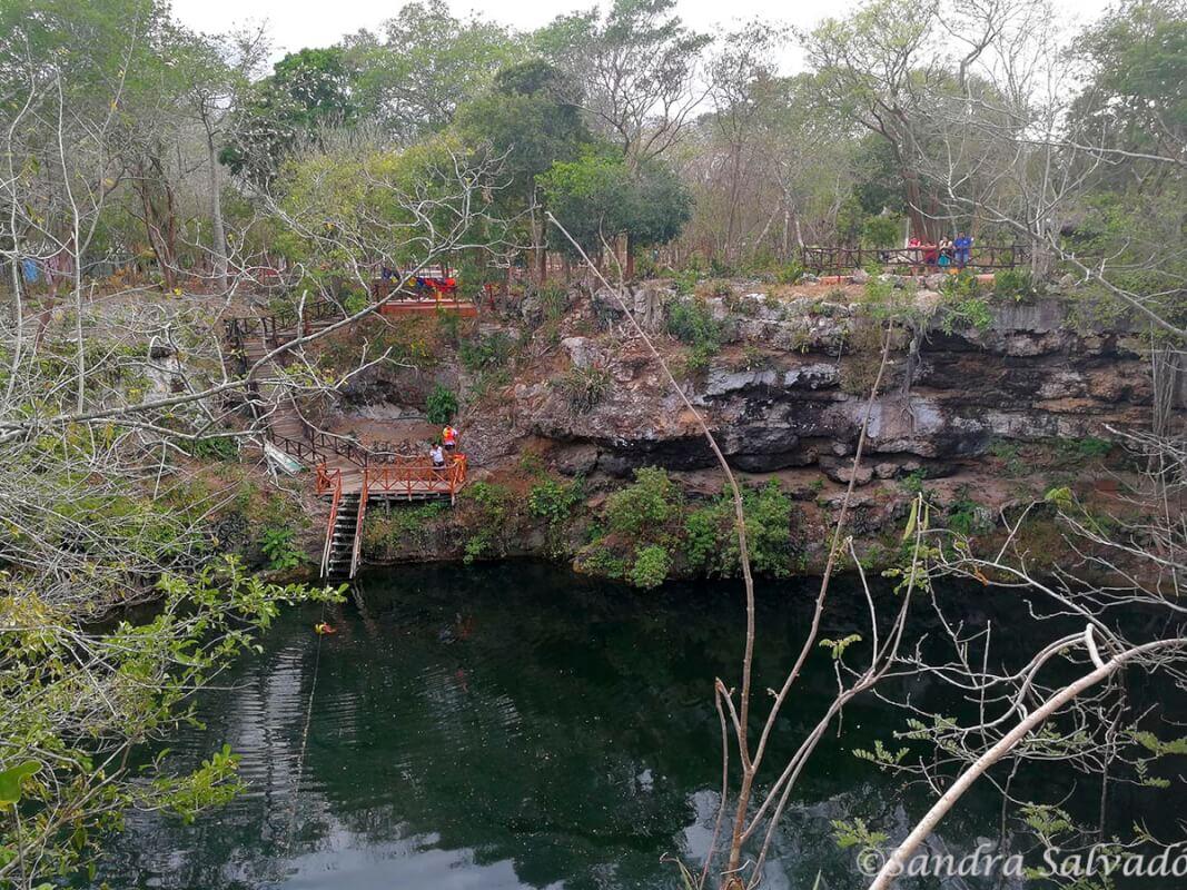 cenote kikil yucatan