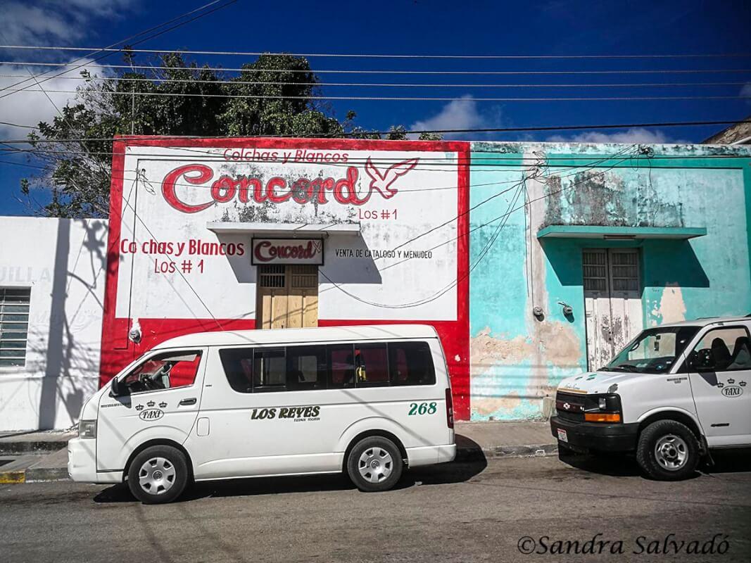 collective transport peninsula yucatan