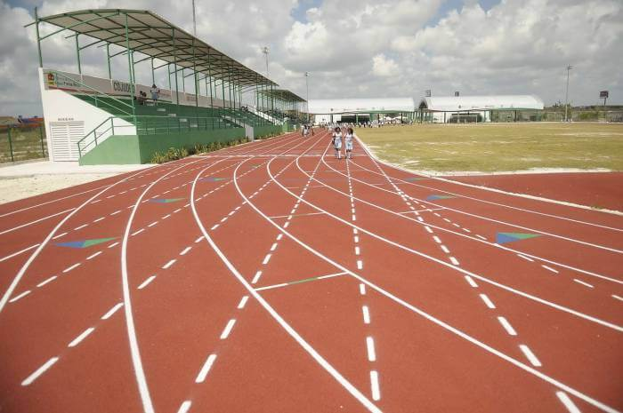 Pista atletismo cancun