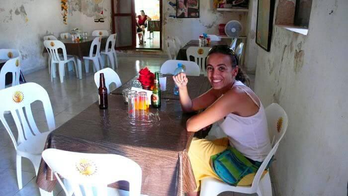 En La Central, de doña Mirna