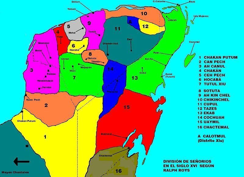 Mayan chiefdoms