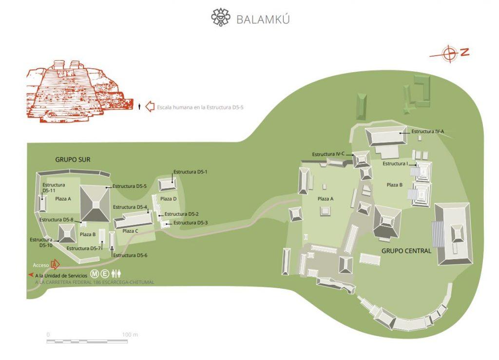 mapa balamku