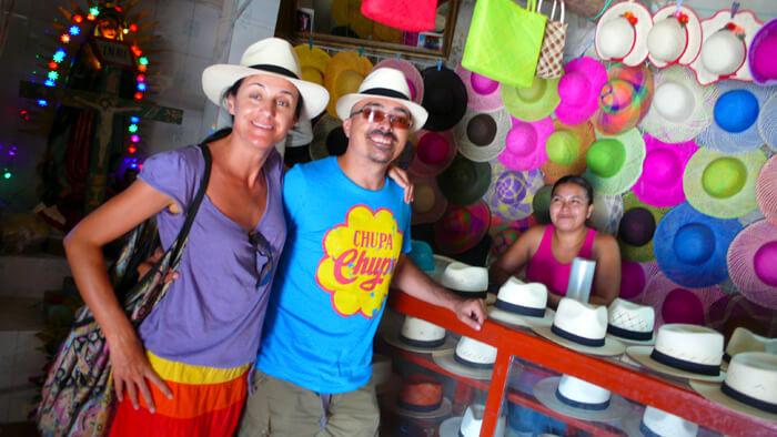Bécal, los sombreros de jipi 2