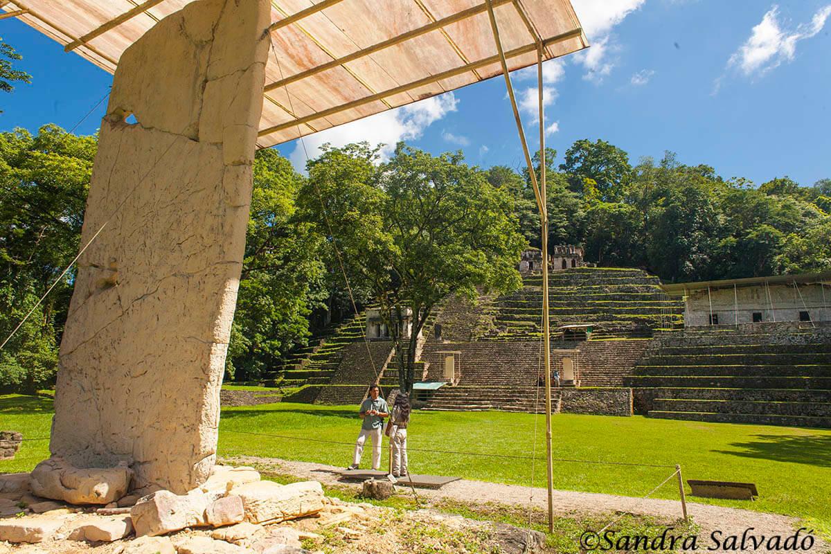 zona arqueologica bonampak